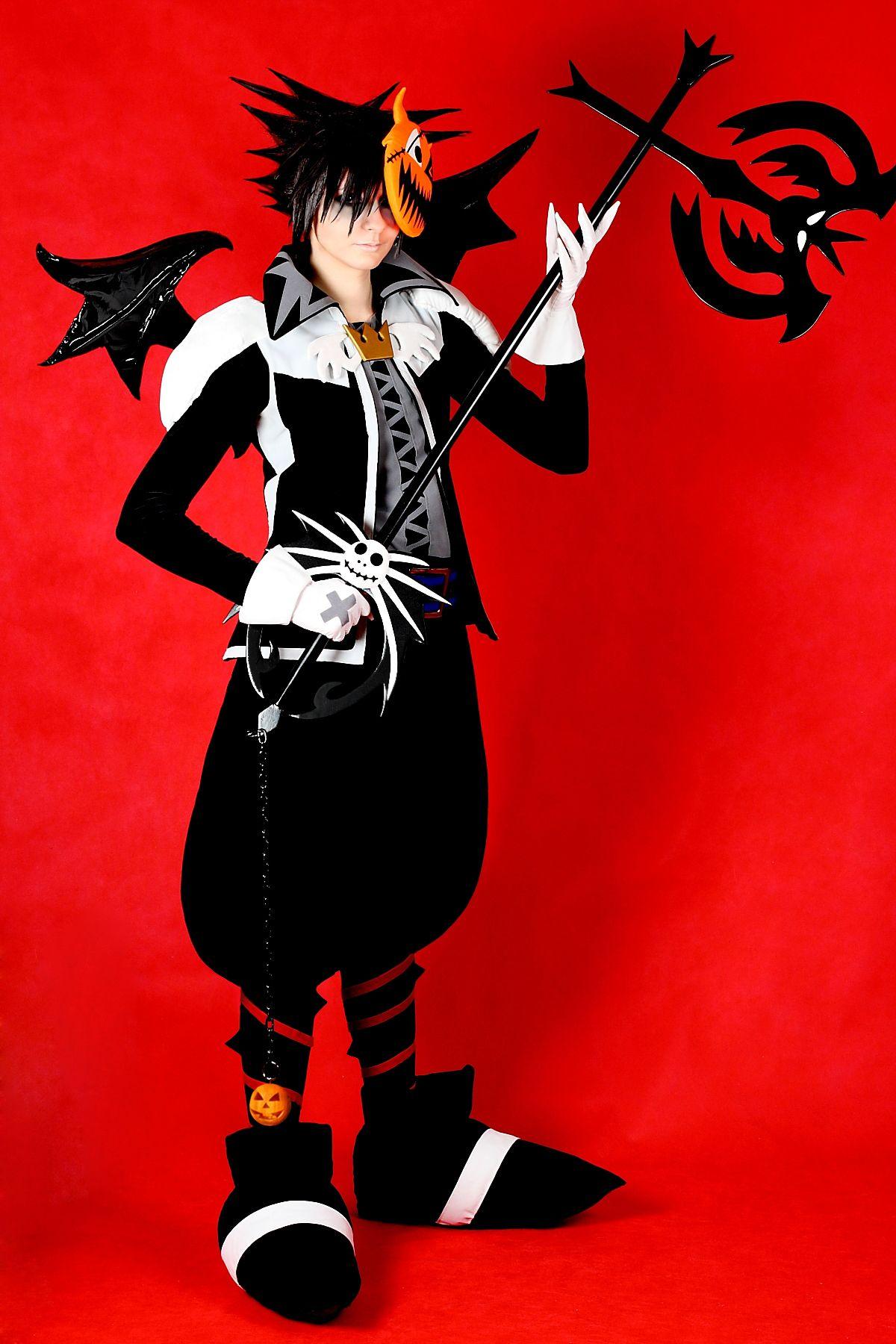 Sora Halloween Town – Kingdom Hearts