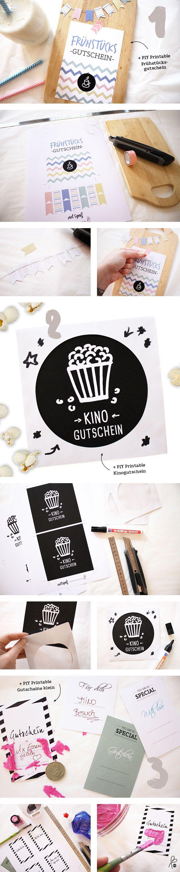 DIY Gutschein | Pinterest | Gutschein vorlage, Geburtstag DIY und ...