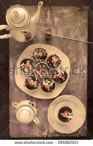 Garden meal - stock photo