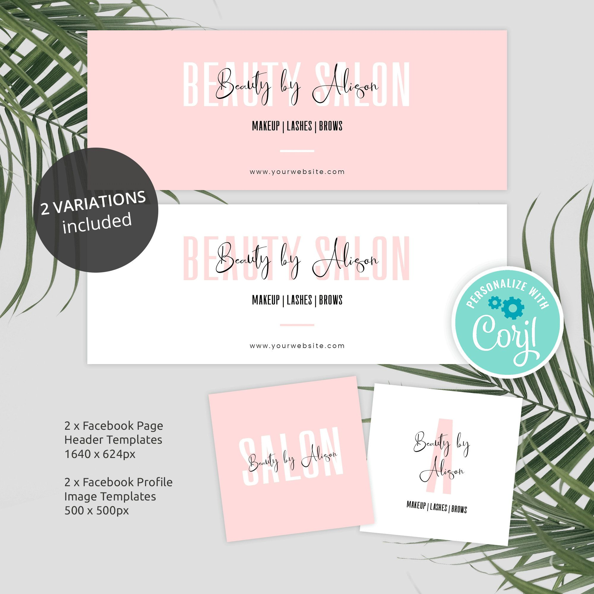 Editable Facebook Banners Facebook Page Cover Template Diy Etsy Facebook Cover Template Cover Template Branding Template
