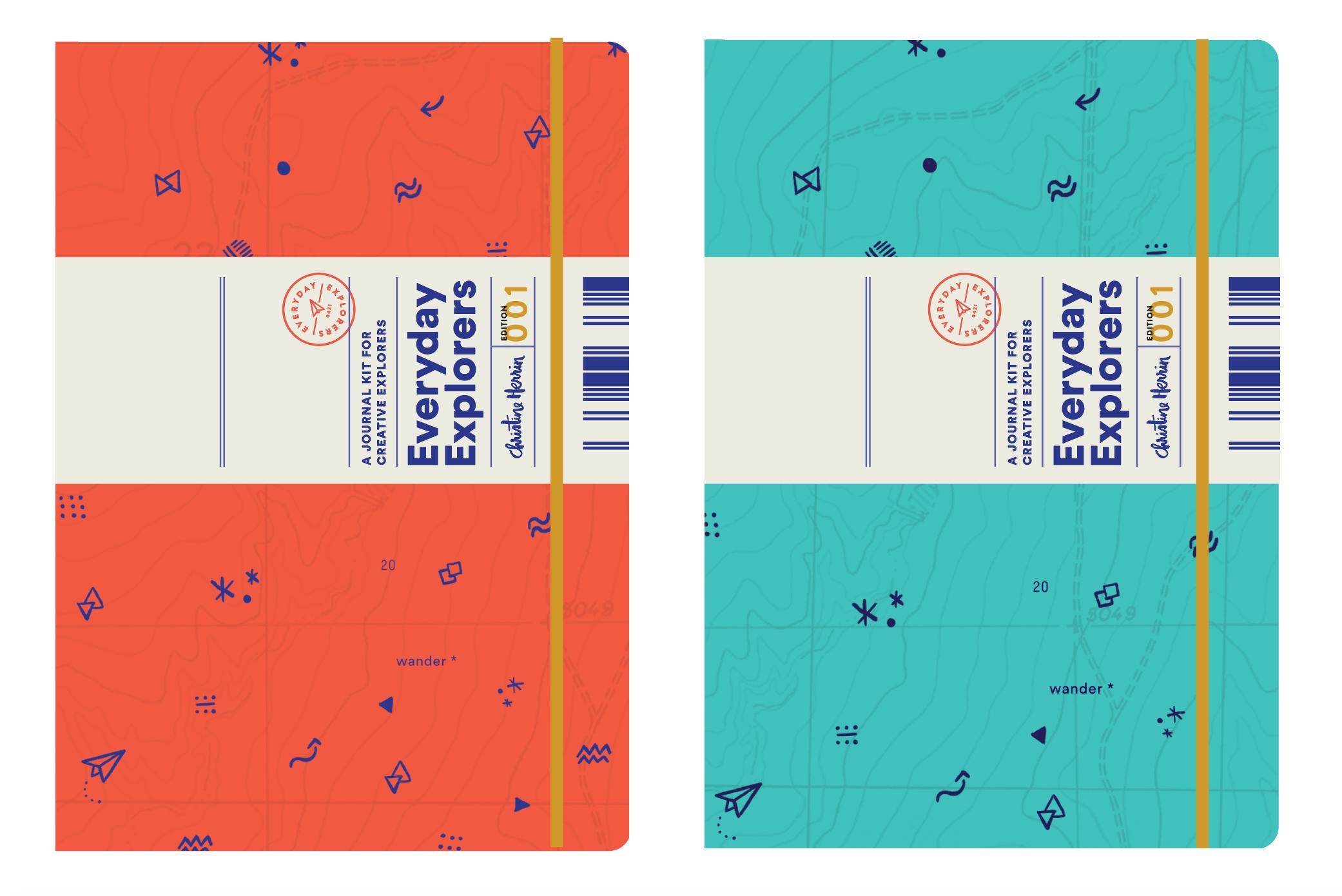 Everyday Explorers Travel Journal Kit On Behance Travel Journal