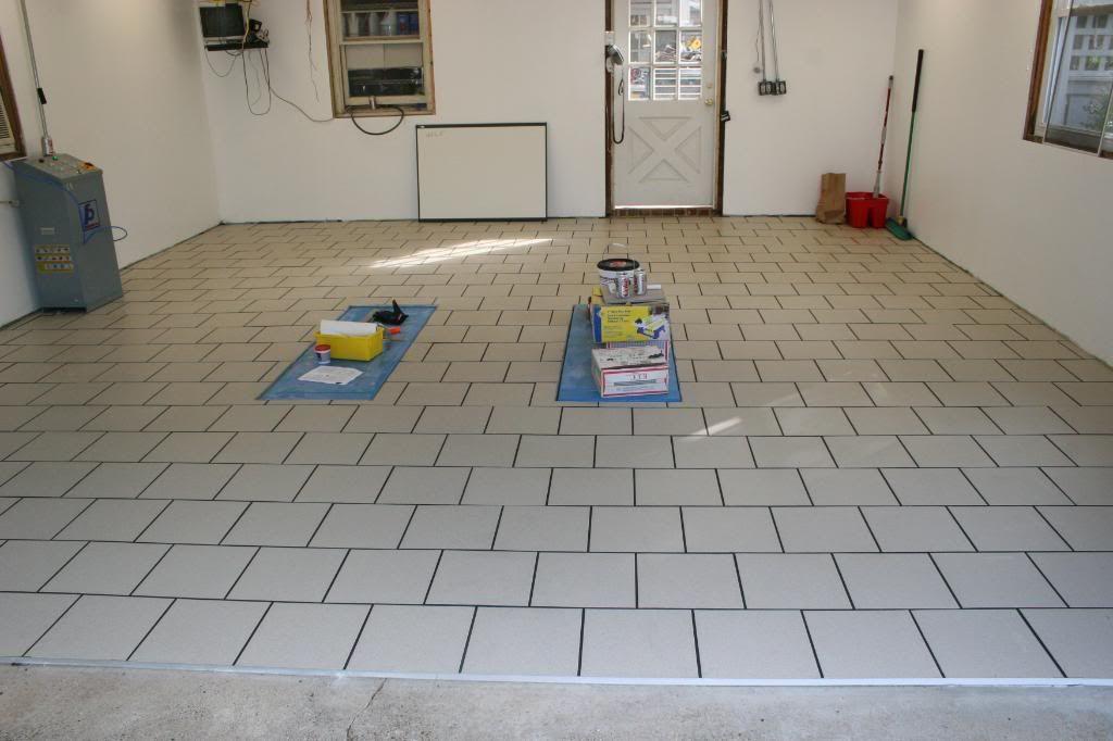porcelain tile garage floor google