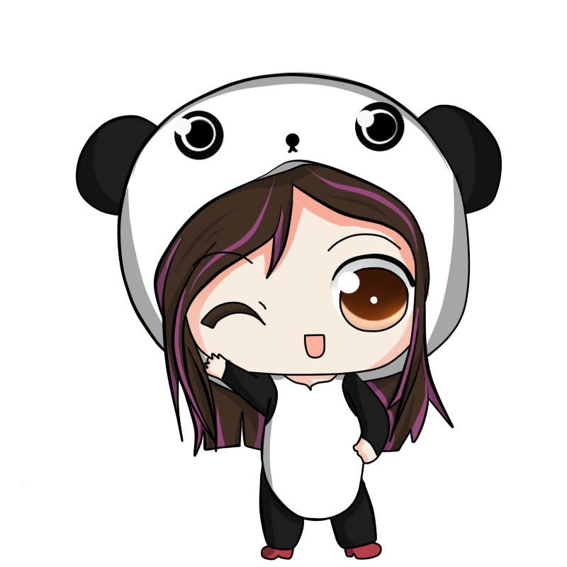 how to draw chibi red panda