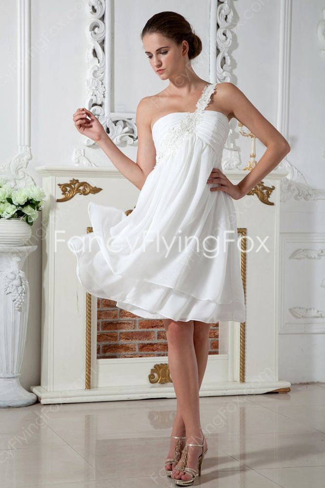 White Maternity Homecoming Dresses