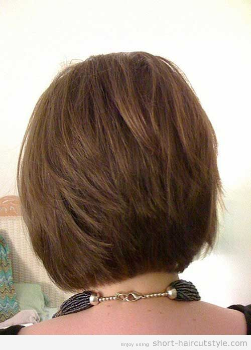 stacked swing bob haircut