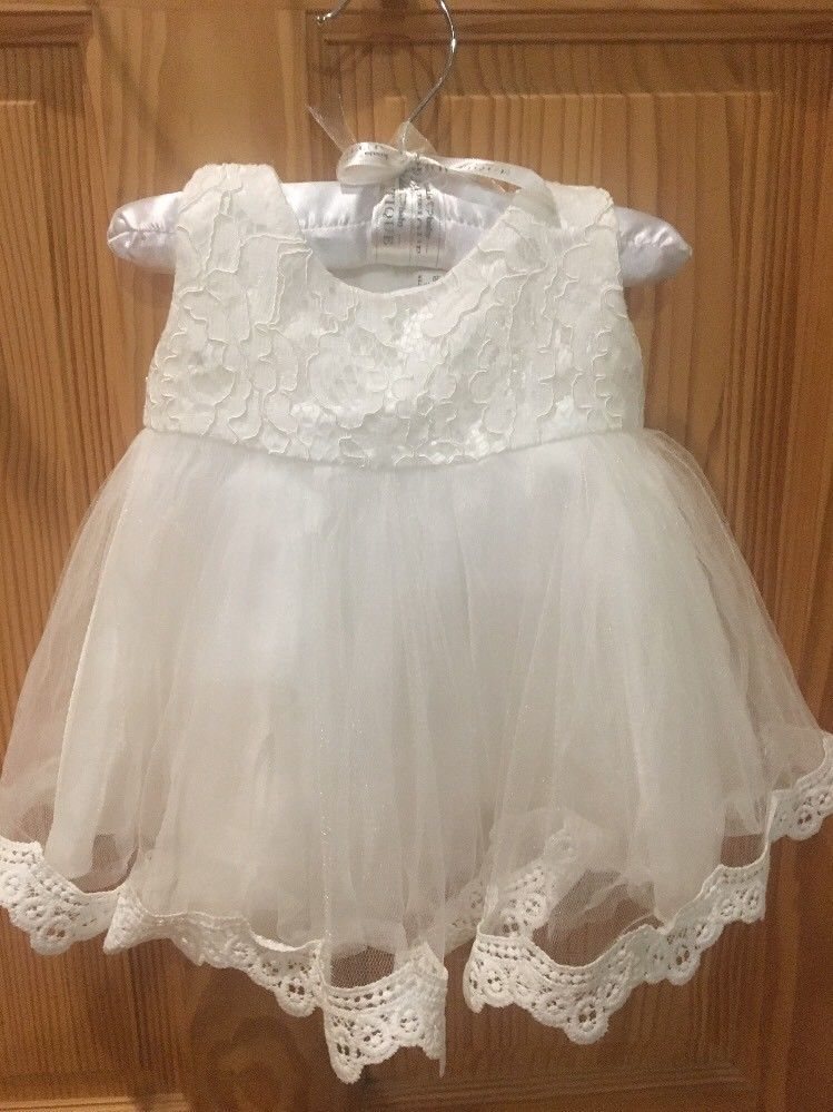 Old White Lace Dress