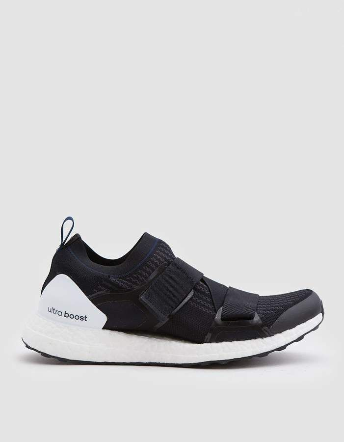 online store b1c0d f9d48 adidas by Stella McCartney UltraBOOST X Double Strap in Black Navy