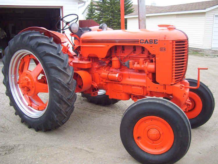 1952 case dc4 tractors old tractors case tractors