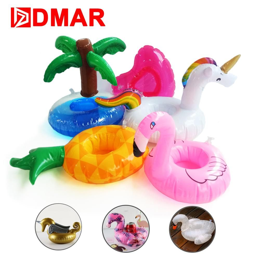 Summer Float Cup Holder For Swimming Pool Gifts Inflatable Coasters Pink Donuts