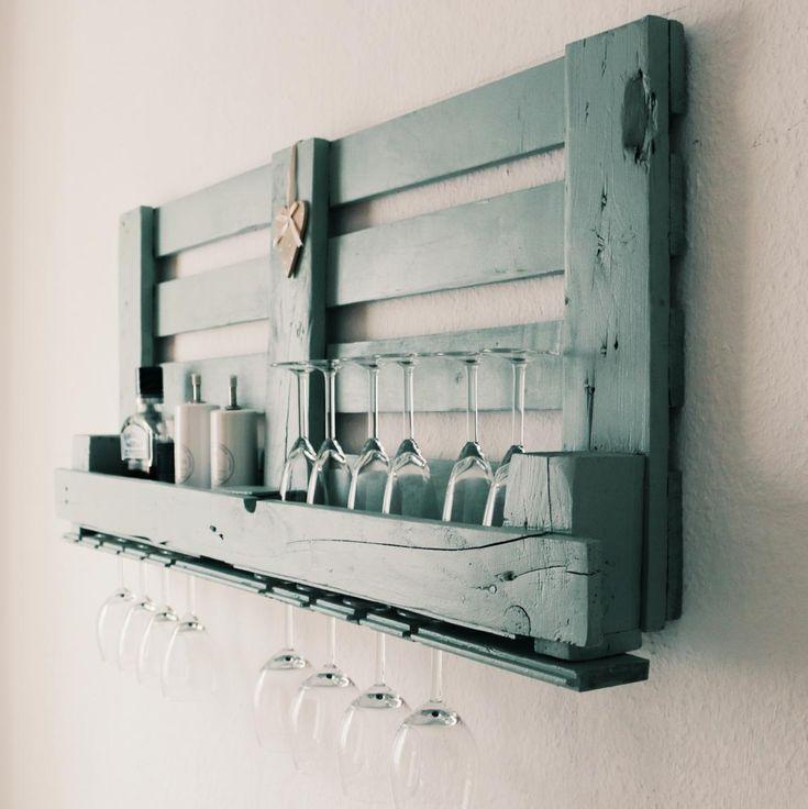 ᐅ Weinregal aus Paletten selber bauen & kaufen   DIY & Shop