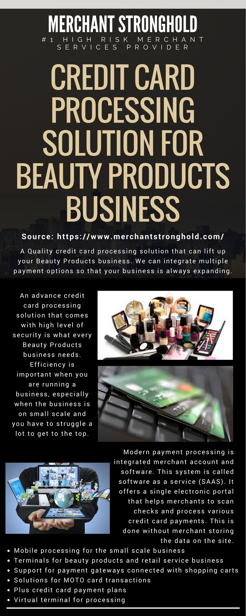 Credit card processing solution for beauty products business online high risk payment gateway and credit card processing service provider merchant stronghold which helps you accept credit card payments from all around colourmoves