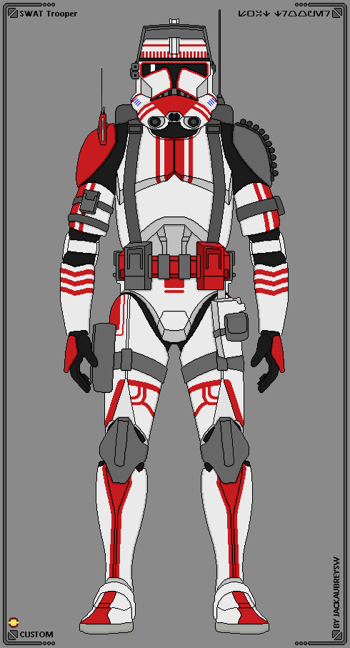 Custom Troopers Swat Trooper By Jackaubreysw Star Wars Infographic Star Wars Images Star Wars Pictures