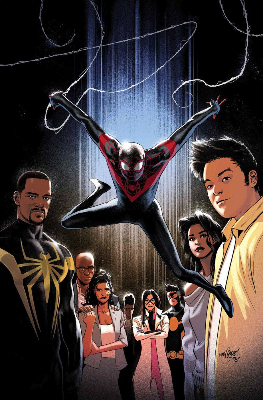 who should/do you want to see write for Miles Morales