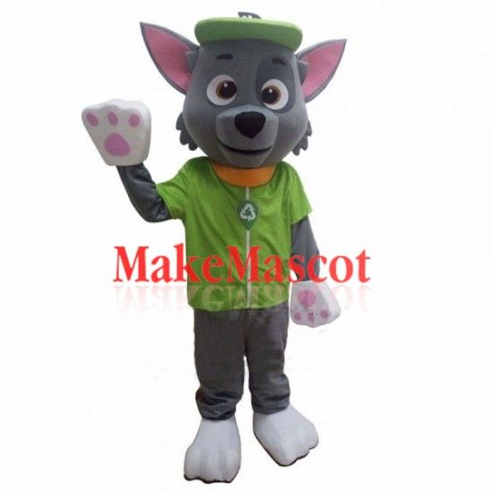 Paw Patrol Rocky Dog Mascot Costume With The Most High Quality - Mascot costumes, Anime halloween, Mascot, Paw patrol dog costume, Paw patrol rocky, Paw patrol - Sports Game