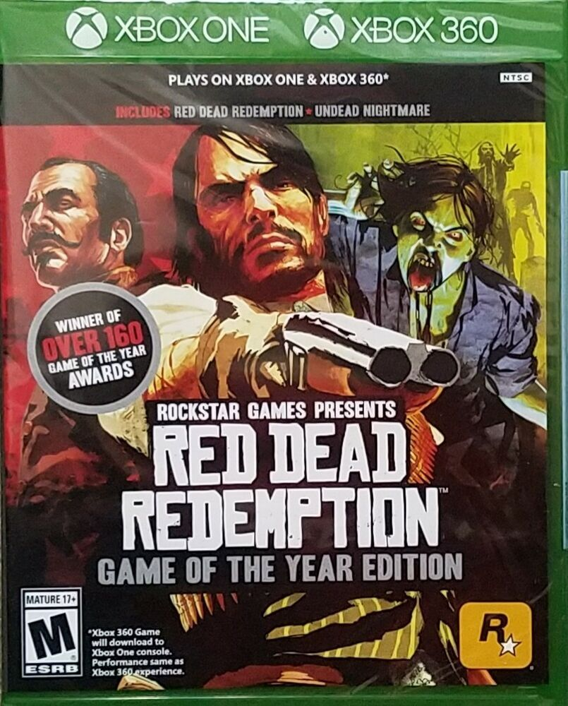 Red Dead Redemption Game Of The Year Edition Xbox One And Xbox
