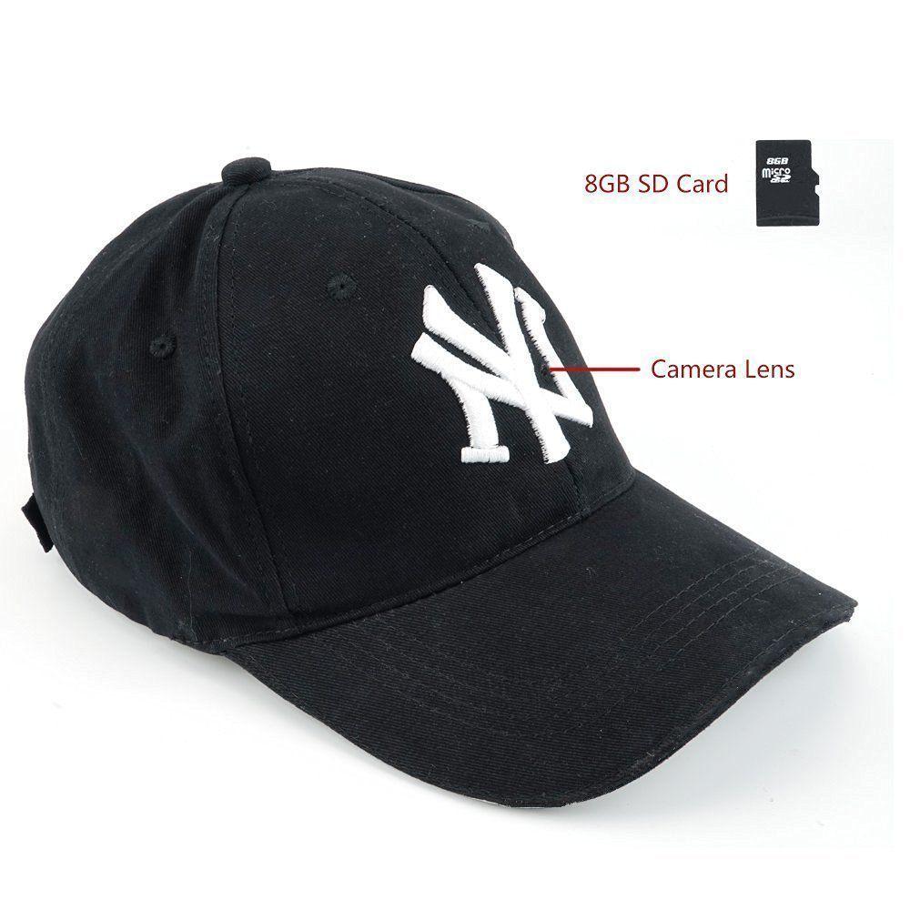 New 1080P HD Hidden Camera Hat Cap Video Recorder DV Camcorder with Audio Record