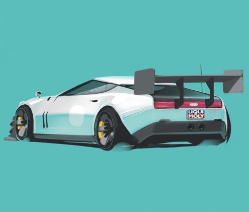 Little retro-racer during friday classes!In collab. with @a.charp ????....#liquimoly #transportationdesign #cardesign #design #automotivedesign #industrialdesign #sketch #carsketch #productdesign #cardesigndaily #car #conceptcar #cardesigner #art #illustration #sketchbook #drawing #vehicledesign #concept #cardesignworld #transportation #photoshop #supercar #automotive #digitalart #rendering #interiordesign #conceptart #carlifestyle #hypercar #supercars #supercars #illustration
