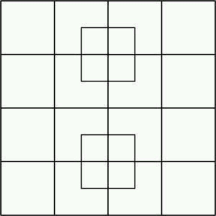 How Many Squares Can You Count Brainteasers Square Picture Square Math Work