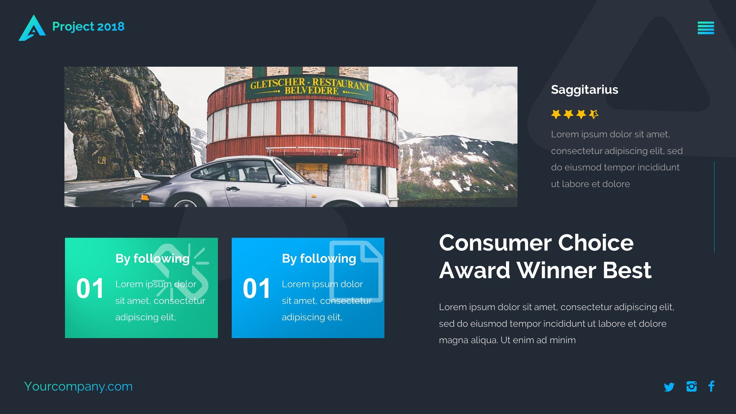 benzo creative powerpoint template creative benzo template