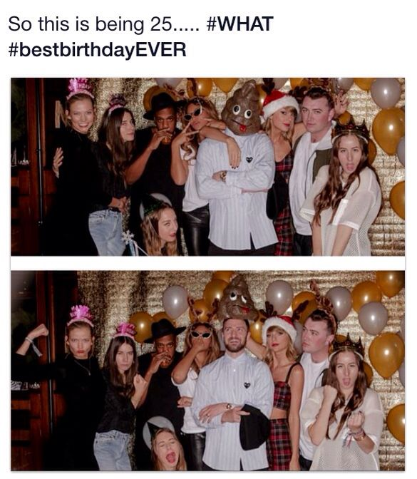 Happy 25th birthday Taylor!!