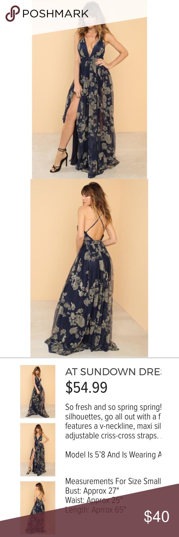 Navy blue dress nwt