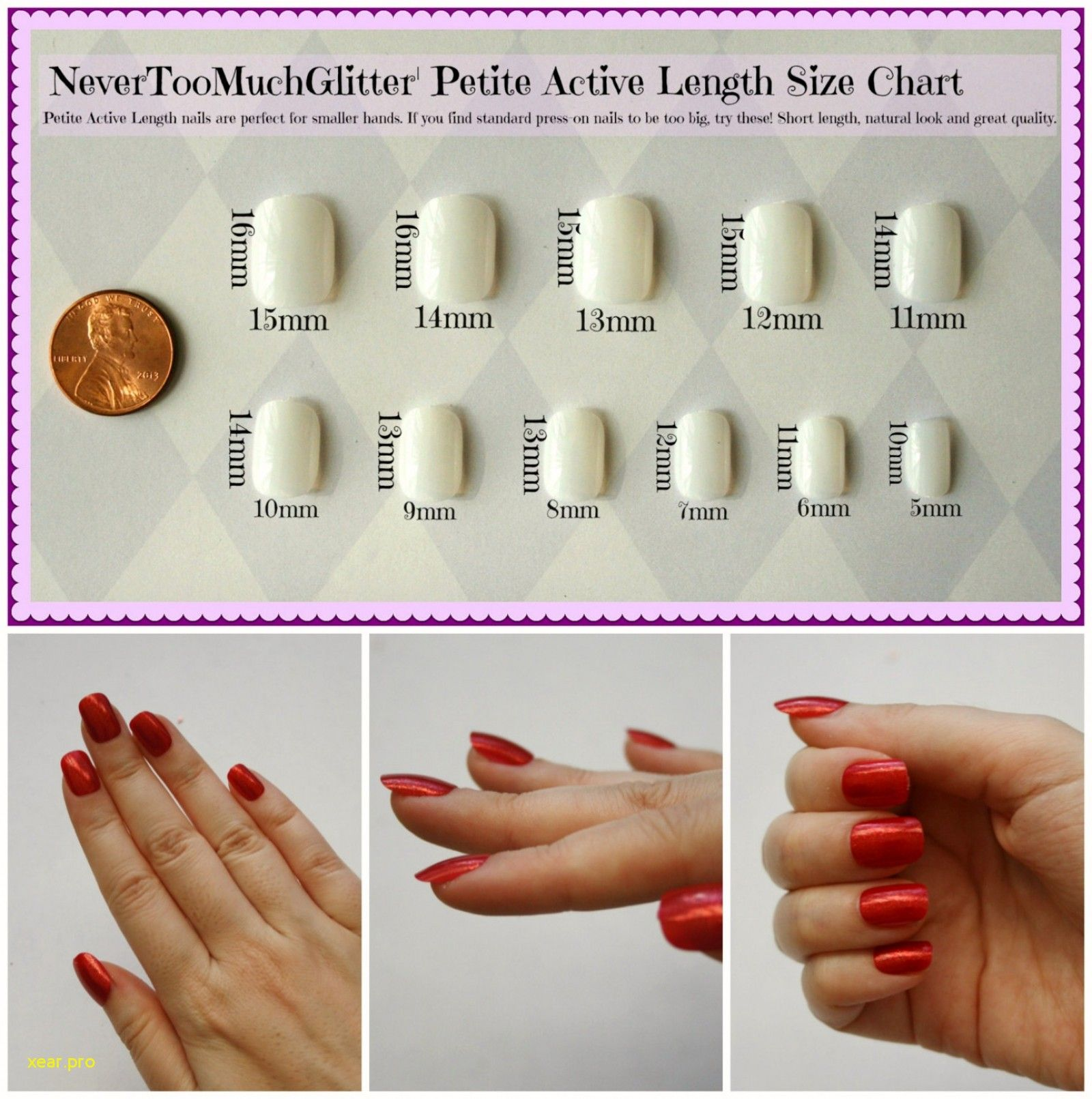 Luxury Nail Length Chart Luxury Nail Length Chart Pleasant To My Blog In This Particular Time Period I Will Demonstrat Nail Length Luxury Nails Nail Art Kit
