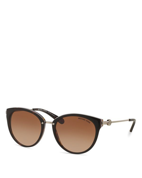 1448cf845e9 Michael Kors Round Cat Eye Sunglasses