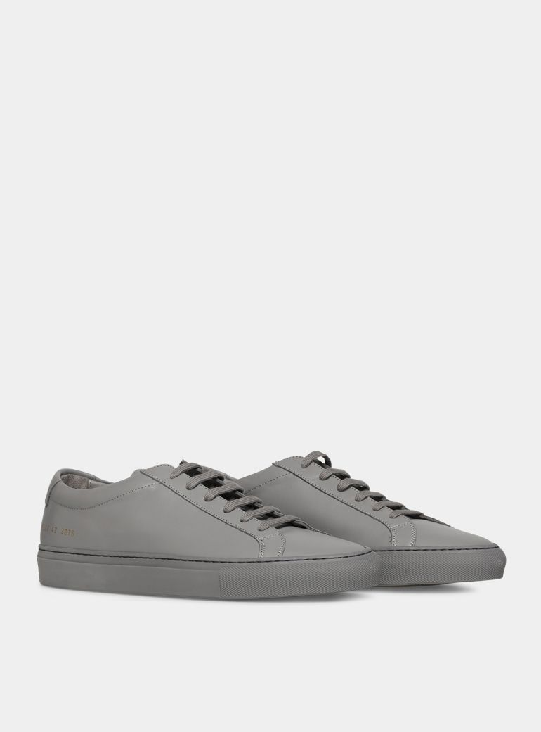 COMMON PROJECTSDesigner Shoes, Dusty Leather Original Achilles Low Men's Snaeakers
