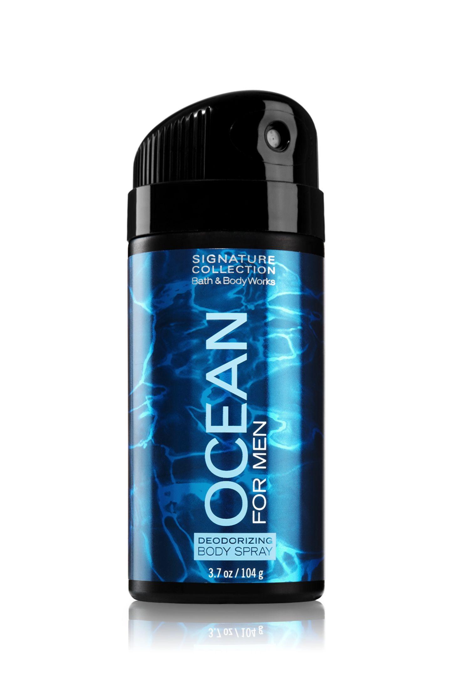 Ocean Deodorizing Body Spray Bath Body Works Men S Bath