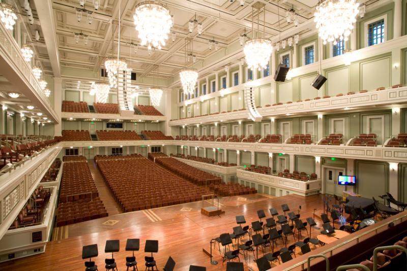 Main Hall - Schermerhorn Symphony Center - Nashville, Tenn ...