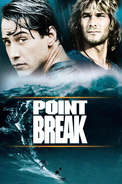 Patrick Swayze Et Keanu Reeves Dans Point Break Extreme Limite