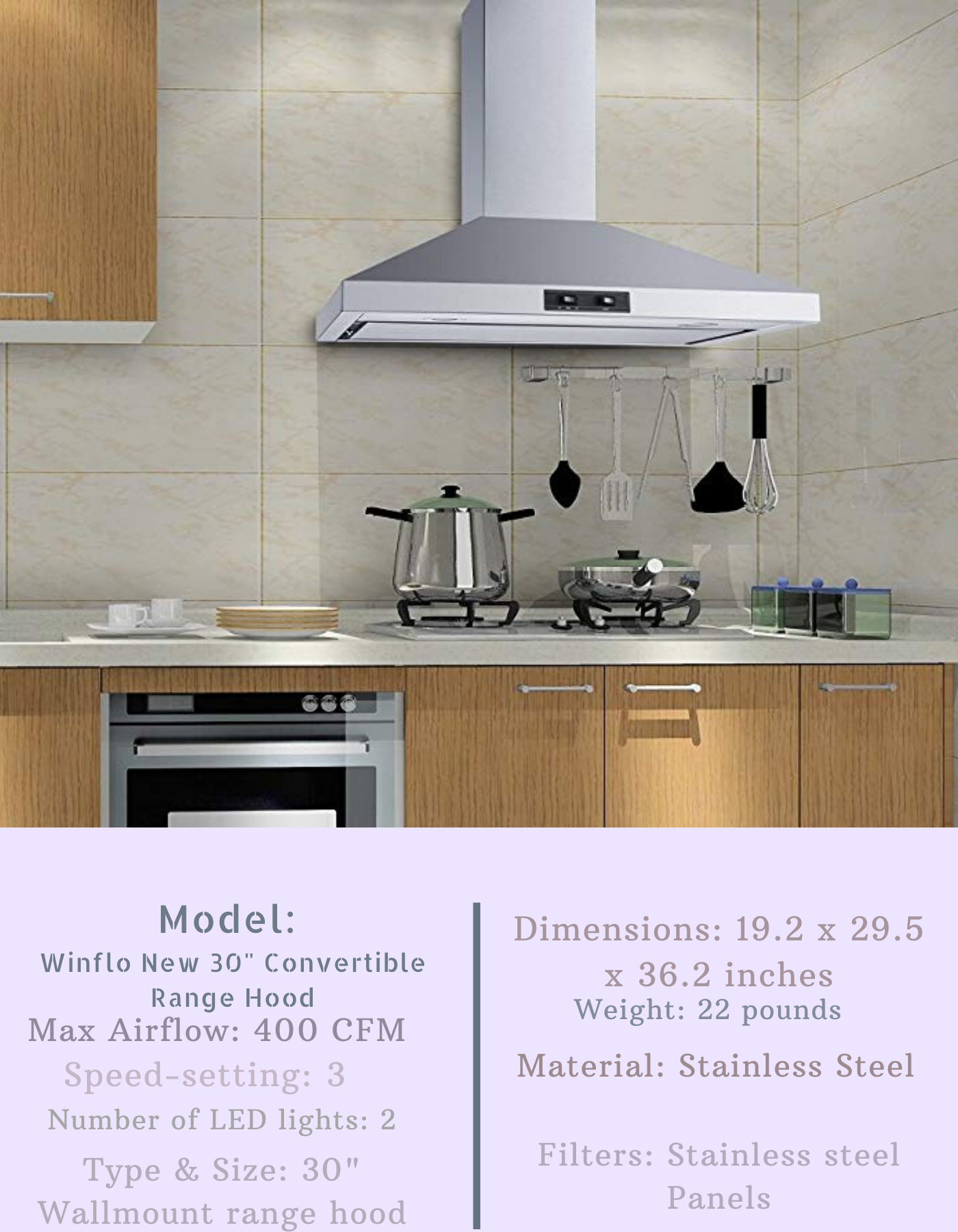 12 Best Wall Mount Range Hood Reviews And Buying Guide For 2020 In 2020 Wall Mount Range Hood Range Hood Cool Walls