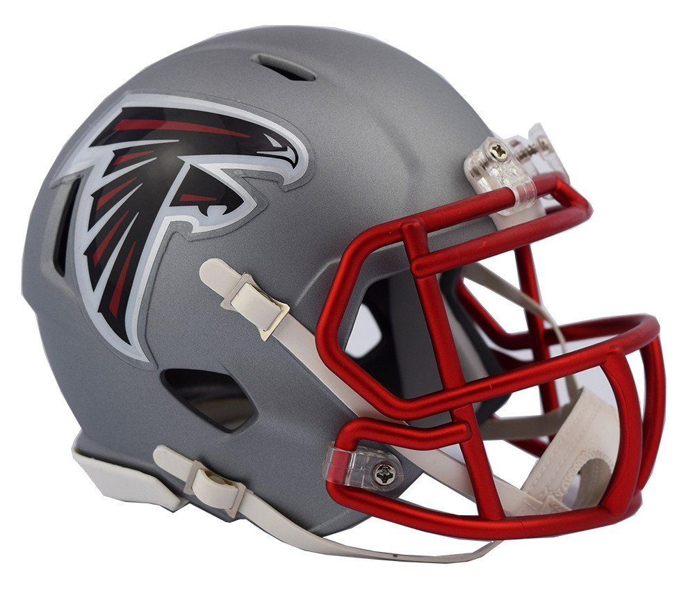 Atlanta Falcons Blaze Speed Mini Helmet Atlanta Falcons Helmet Mini Football Helmet Falcons Helmet