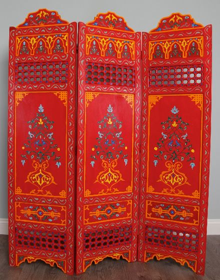 Moroccan Screen / Room Divider · Moroccan RoomMoroccan StyleBohemian  FurnitureBohemian ...