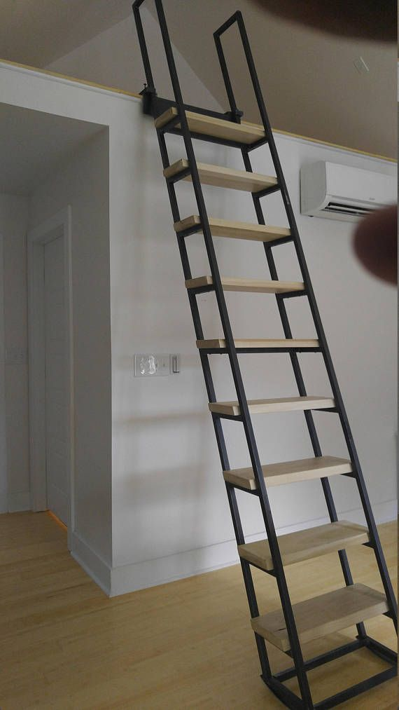 loft ladder librarian products pinterest dachboden treppe und boden. Black Bedroom Furniture Sets. Home Design Ideas