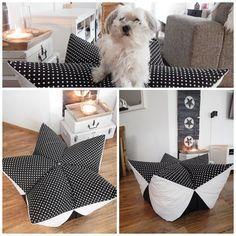 einzigartig sternen bodenkissen sternenkissen bodenlosen sitzsack sitzskissen n hen. Black Bedroom Furniture Sets. Home Design Ideas