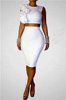 White Two Pieces Outfit