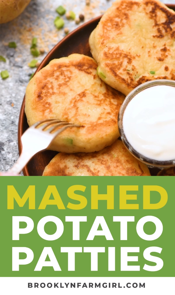 Photo of Mashed Potato Patties – Thanksgiving Leftovers