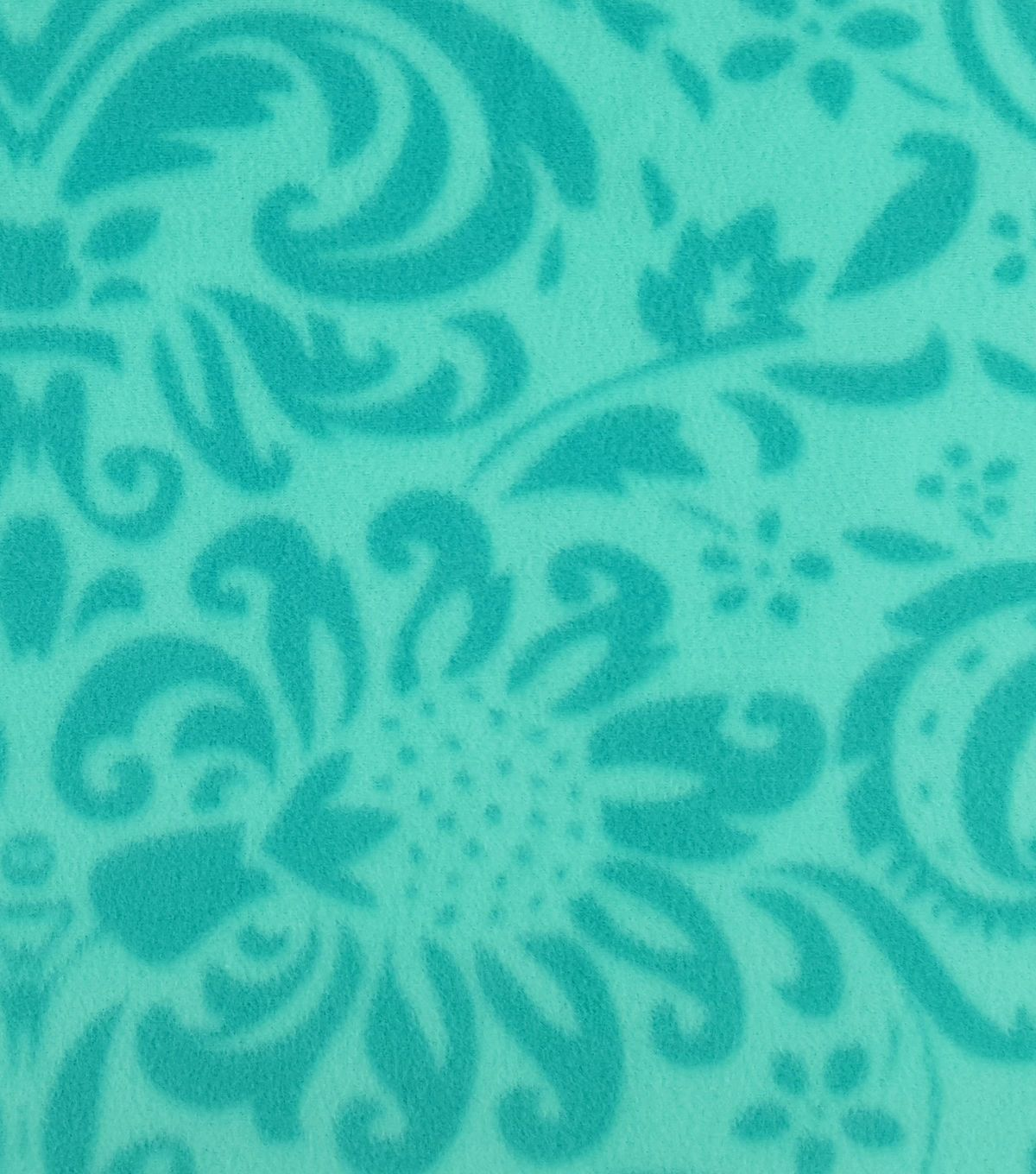 Anti pill fleece fabric uuteal damask damasks teal and products