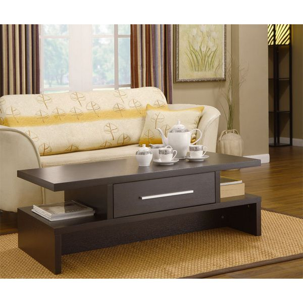 Tepekiie Two Side Open Coffee Table | Overstock.com