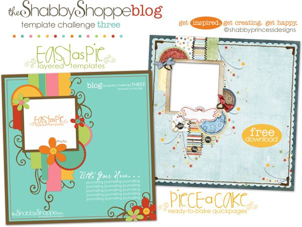 Easy-As-Pie Template Challenge {THREE}