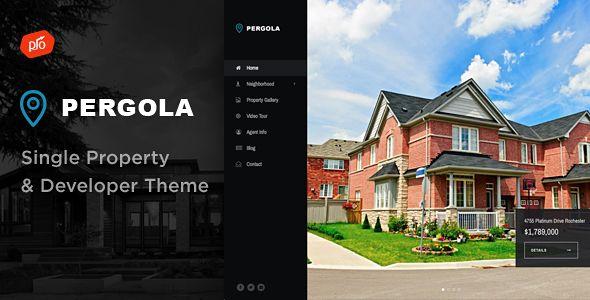 Pergola Single Property & Developer Theme Popup