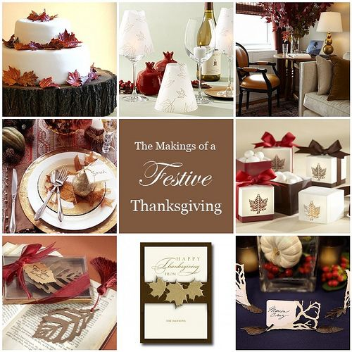 Thanksgiving Decorating Ideas   thingsfestiveblogspot/2012