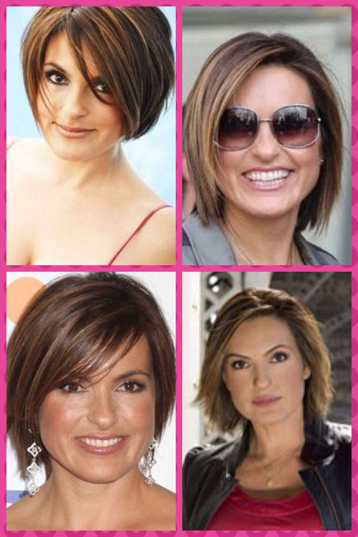 liking the olivia benson haircuts | i'd do this with my hair