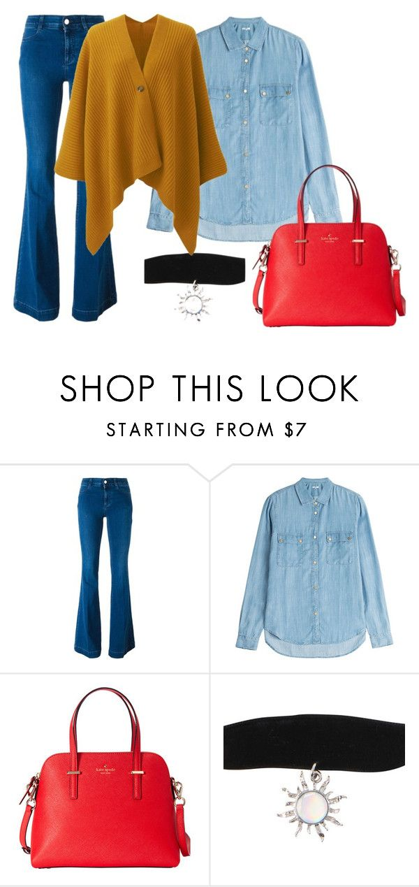 """""""ghv55"""" by v-askerova on Polyvore featuring мода, STELLA McCARTNEY, 7 For All Mankind, Kate Spade и Uniqlo"""