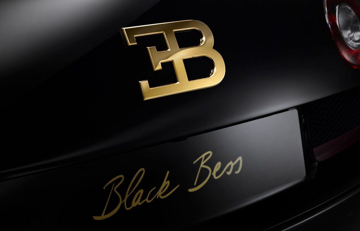 Foto De Bugatti Veyron Black Bess 9 19 Bugatti Veyron