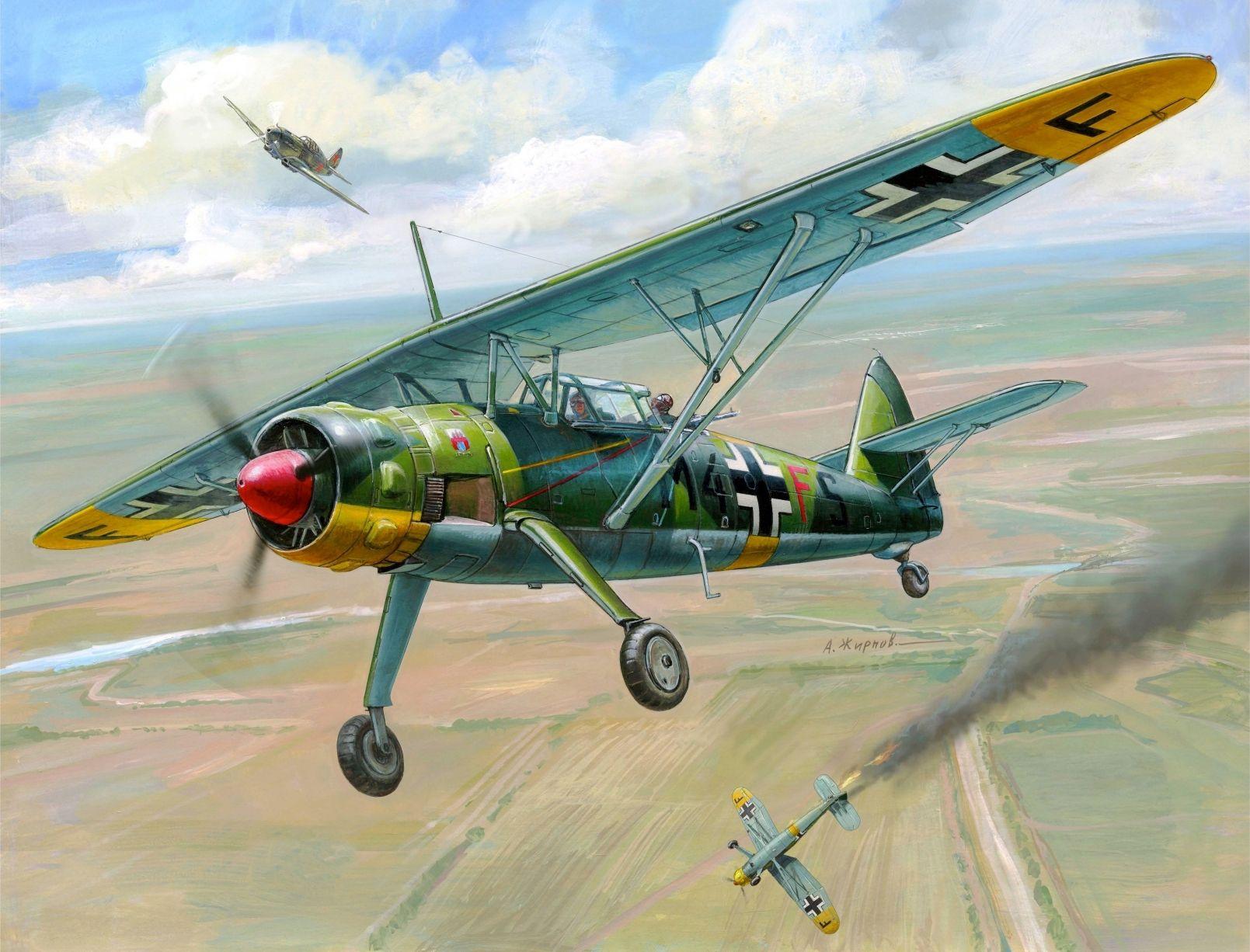История самолетов на английском языке