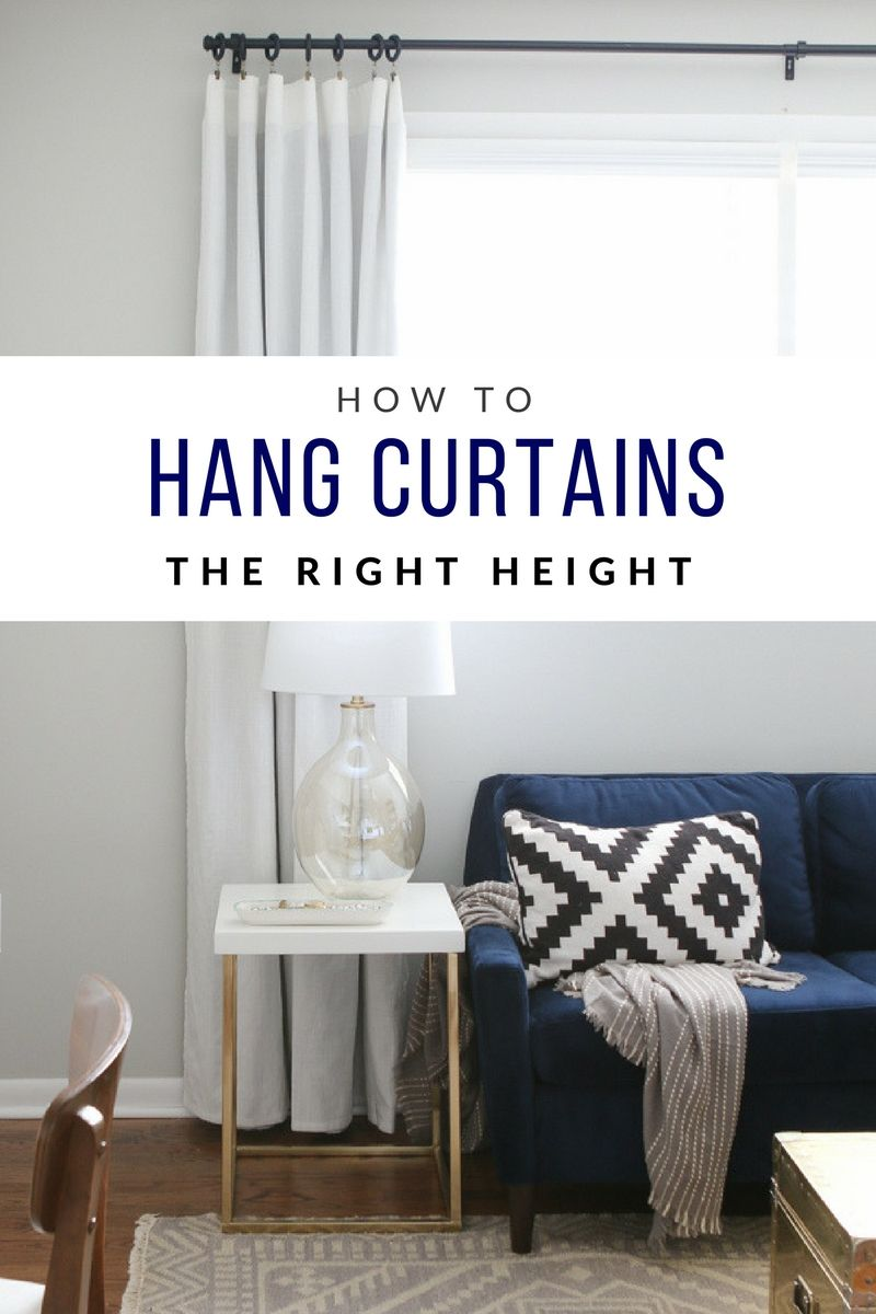 Hanging Curtains On Walls Without Windows How To Hang Curtains To Transform Your Windows Fixer Upper