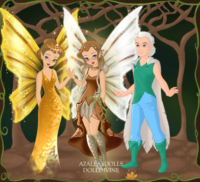 Disney fairies queen clarion and lord milori