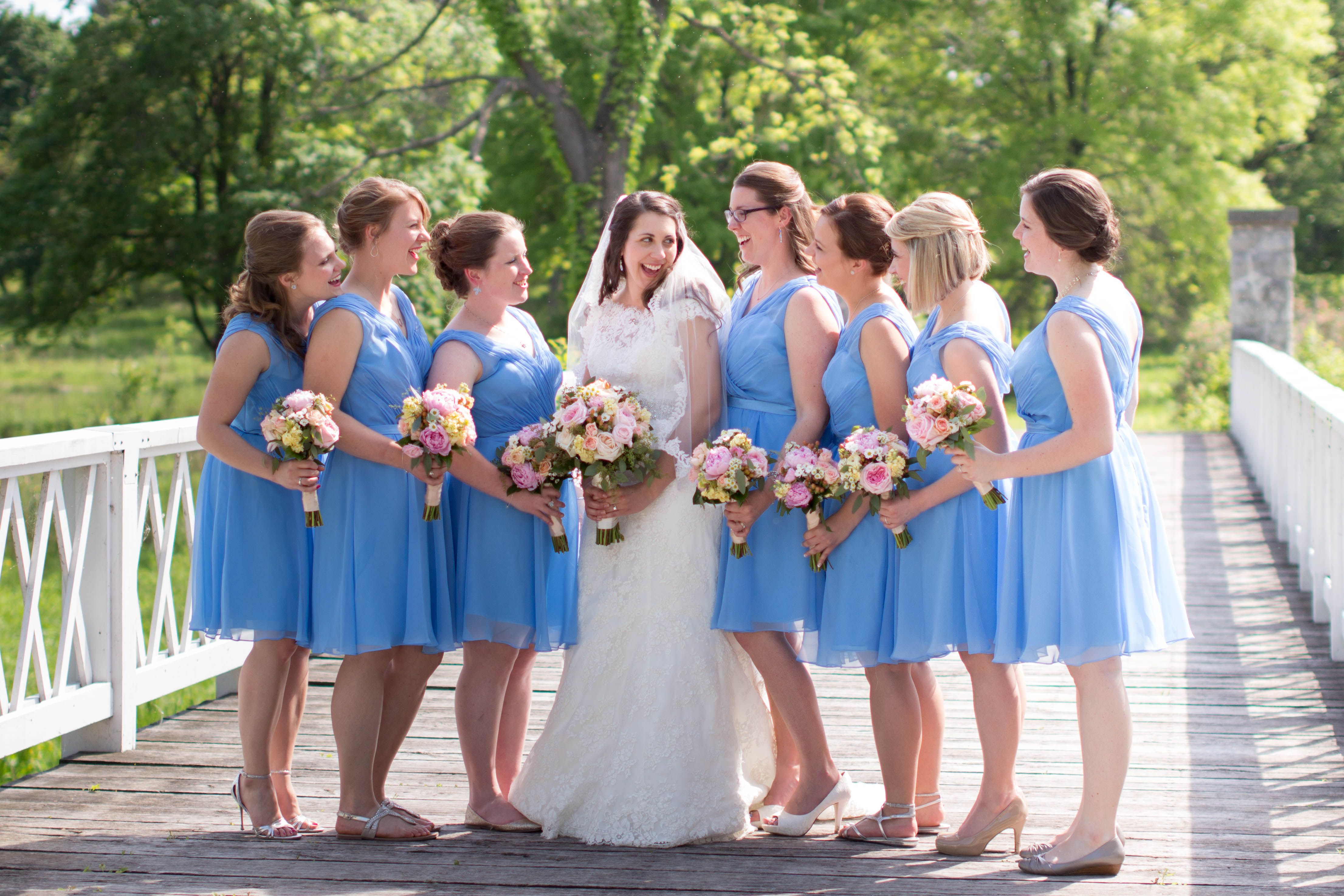 Jennifer Claire Photography Abbey Farms Wedding Nagel Emporium Aurora Il Wedding Dresses Bridesmaid Dresses Wedding Photographers
